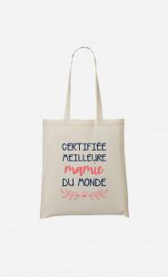 Tote Bag Certifiée Meilleure Mamie Du Monde