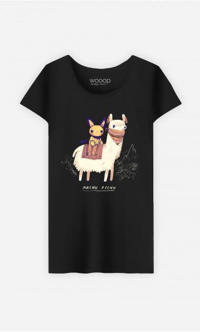 T-Shirt Femme Machu Pichu