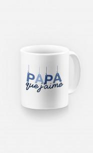 Mug Papa Que J'aime