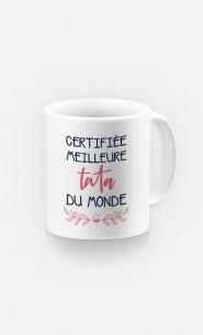 Mug Certifiée Meilleure Tata Du Monde