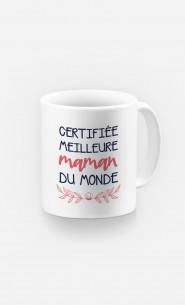 Mug Certifiée Meilleure Maman Du Monde