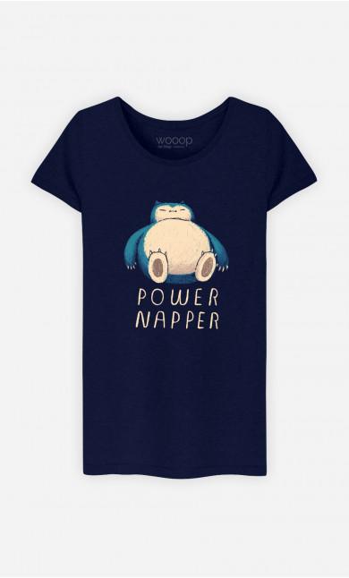 T-Shirt Femme Power Napper