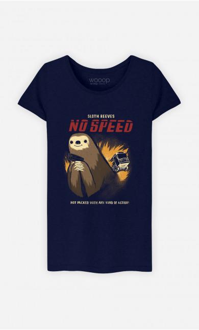 T-Shirt Femme No Speed