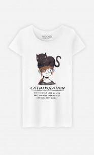 T-Shirt Femme Catnipulation