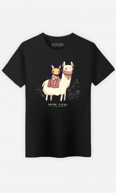 T-Shirt Homme Machu Pichu