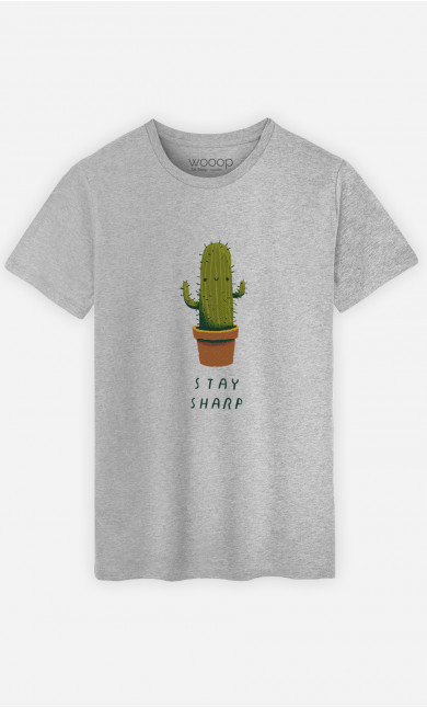 T-Shirt Homme Stay Sharp
