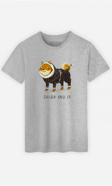 T-Shirt Homme Shiba Inuit