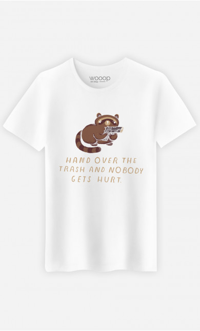 T-Shirt Homme Raccoon