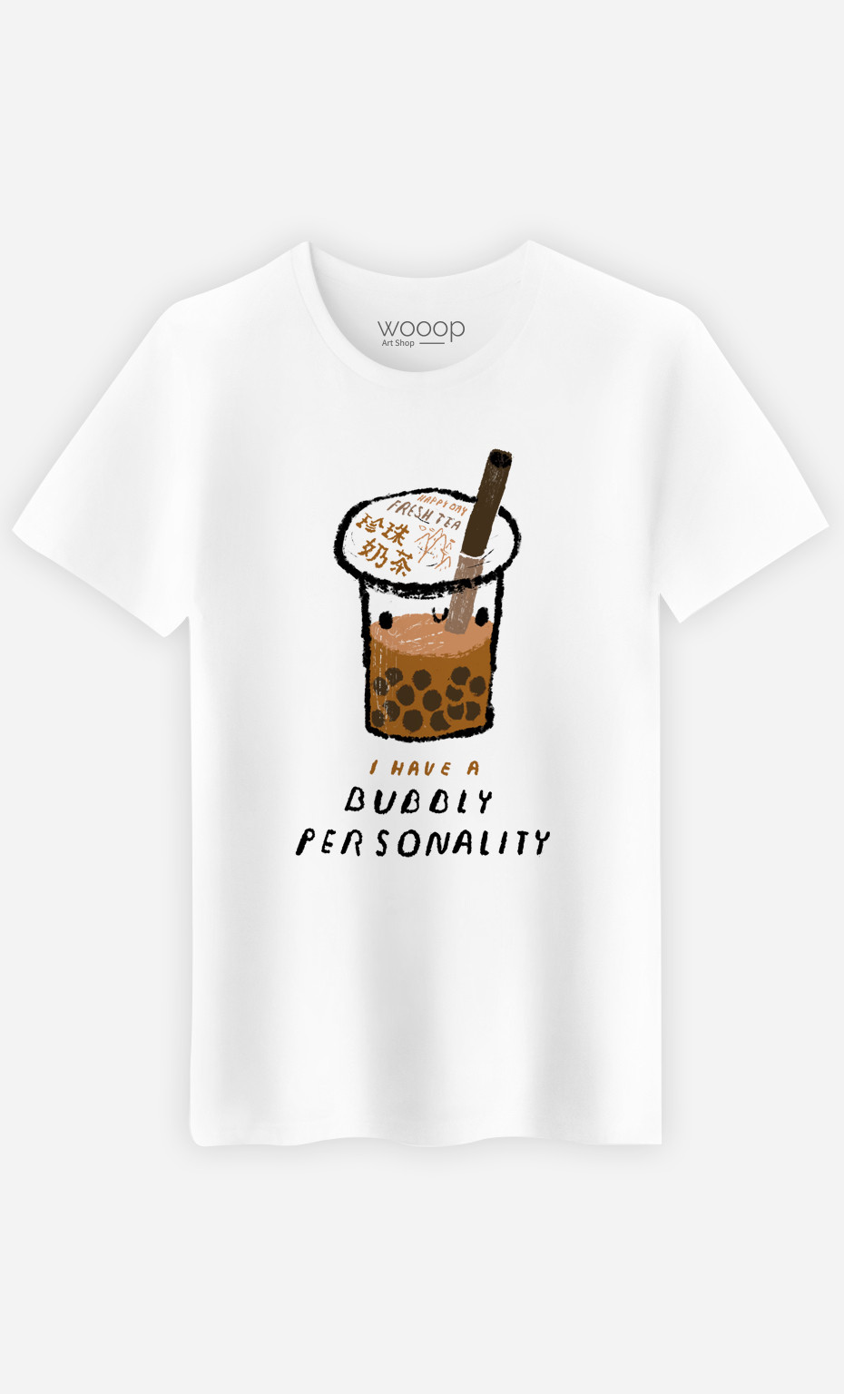 T-Shirt Homme Bubble Tea