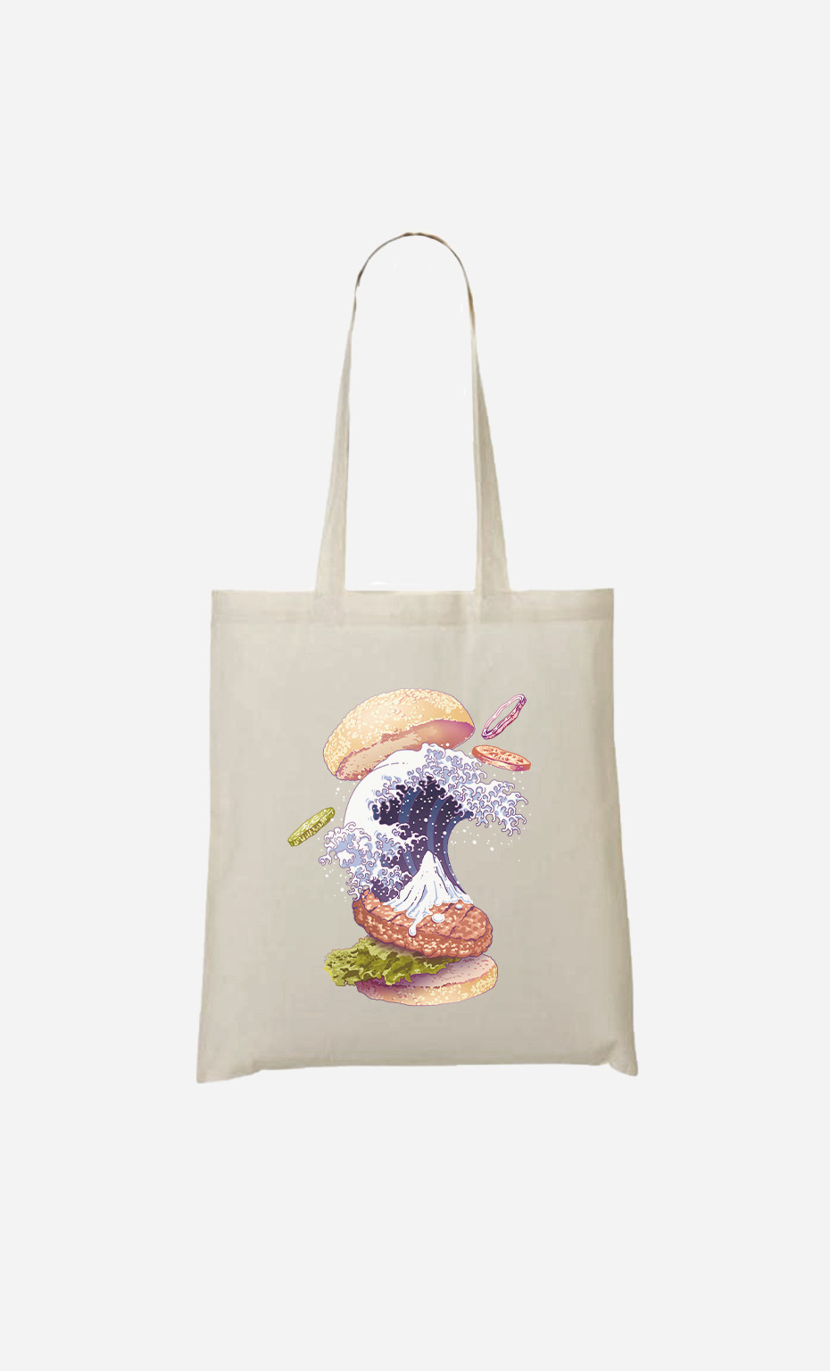 Tote Bag Kanagawa Burger