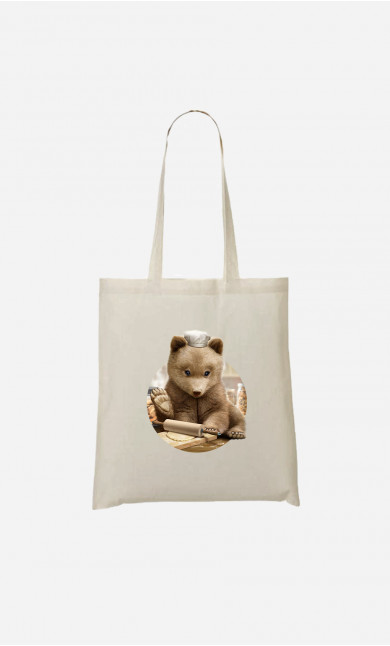 Tote Bag Chef Bear