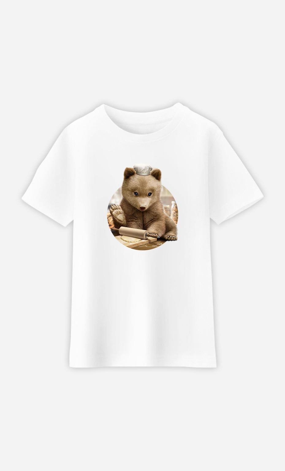 T-Shirt Enfant Chef Bear