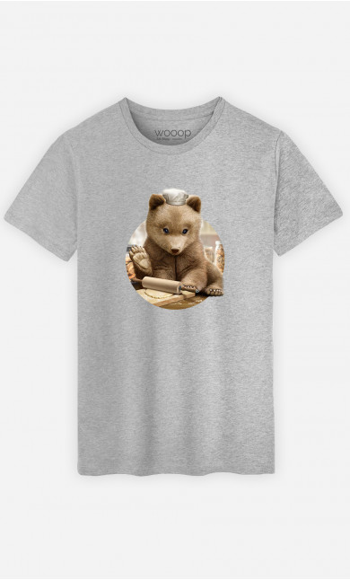 T-Shirt Homme Chef Bear