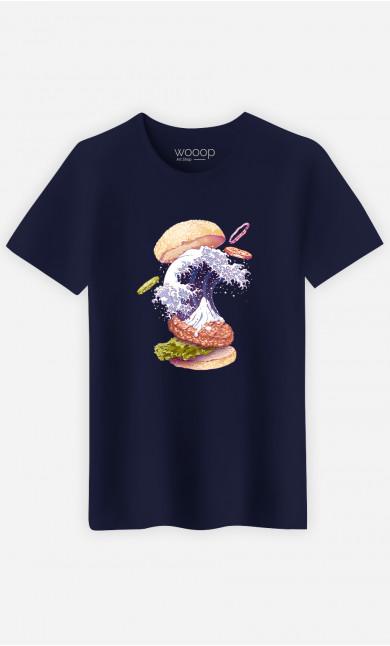 T-Shirt Homme Kanagawa Burger