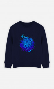 Sweat Enfant Sea Flower