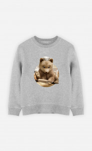 Sweat Enfant Chef Bear