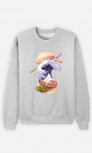 Sweat Femme Kanagawa Burger