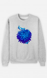 Sweat Homme Sea Flower
