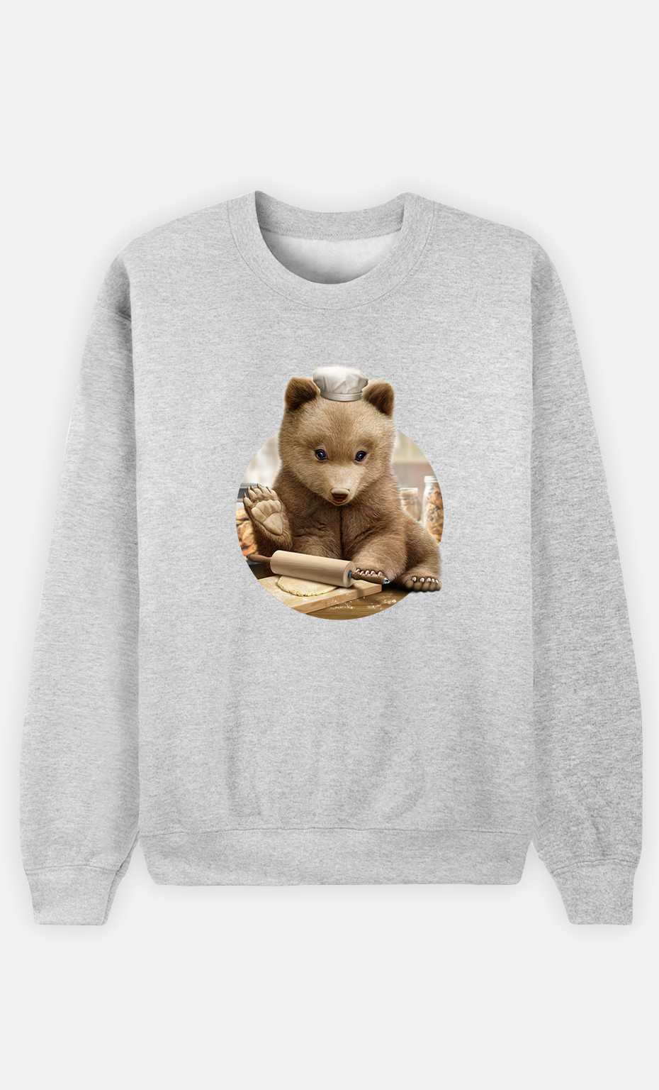 Sweat Homme Chef Bear