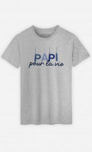 T-Shirt Homme Papi Pour La Vie