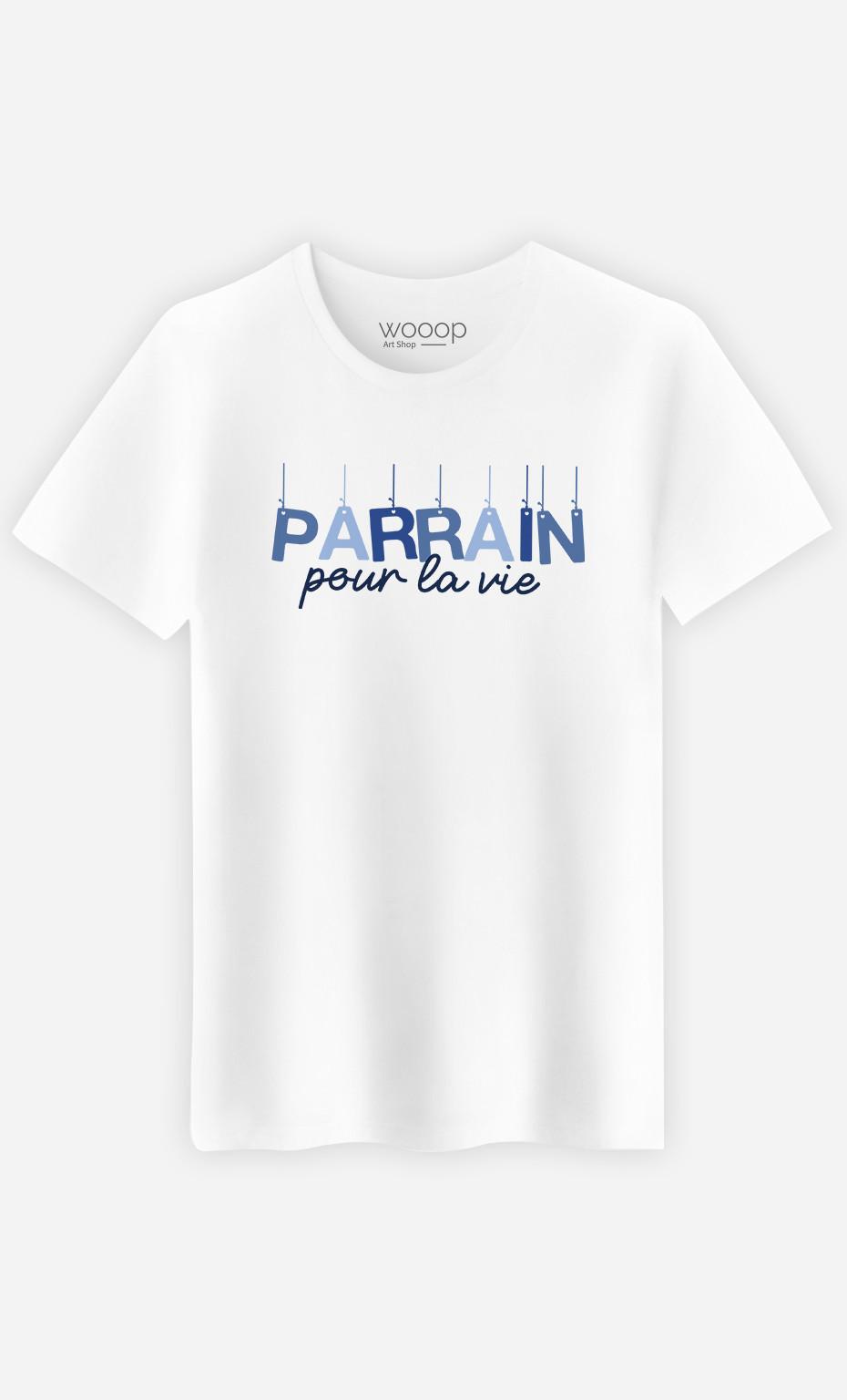 T-Shirt Homme Parrain Pour La Vie