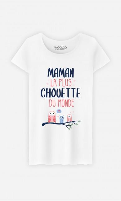 T-Shirt Femme Maman La Plus Chouette
