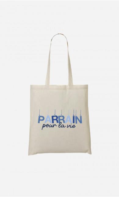 Tote Bag Parrain Pour La Vie