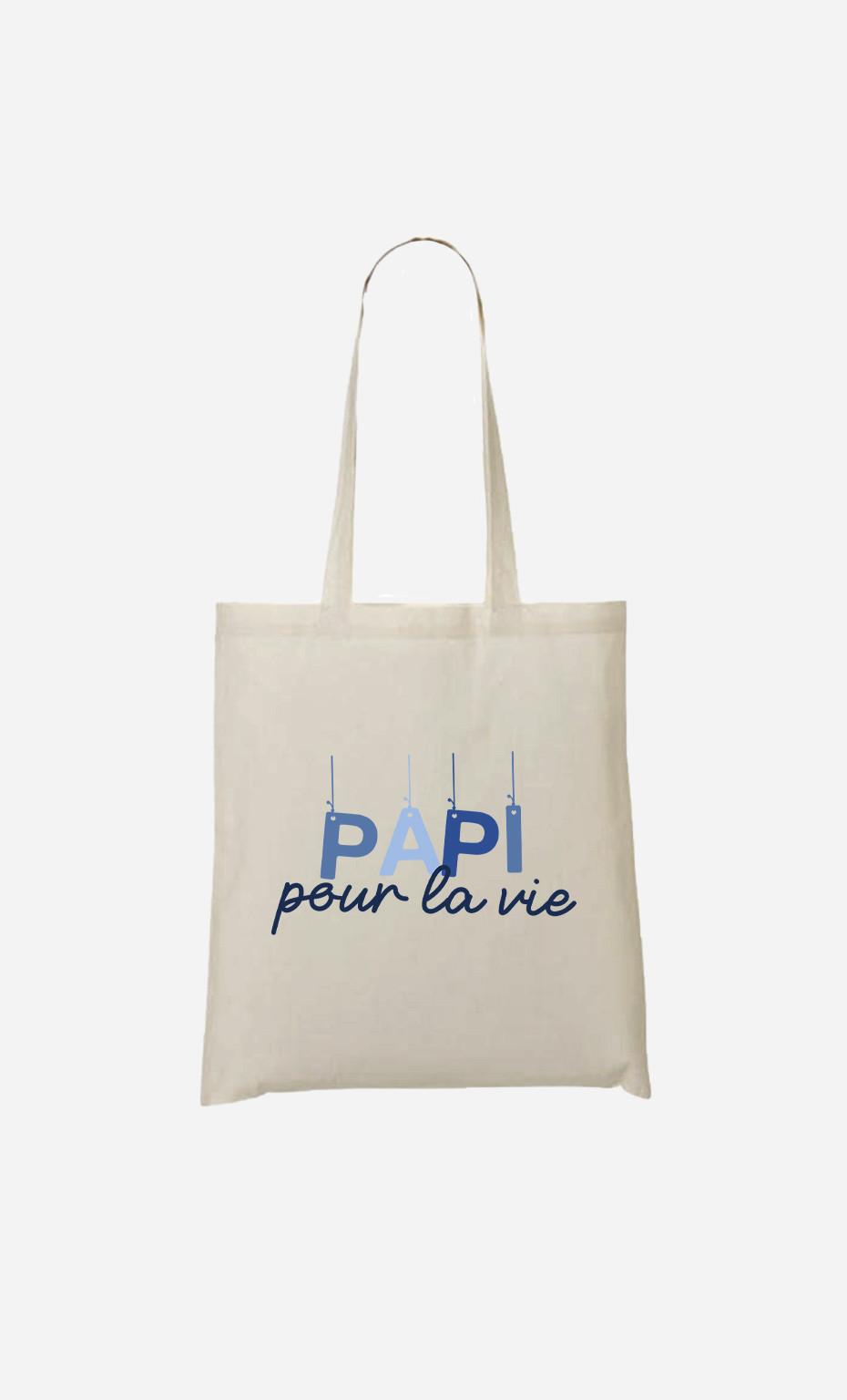 Tote Bag Papi Pour La Vie