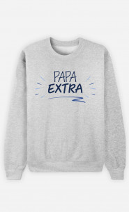 Sweat Homme Papa Extra