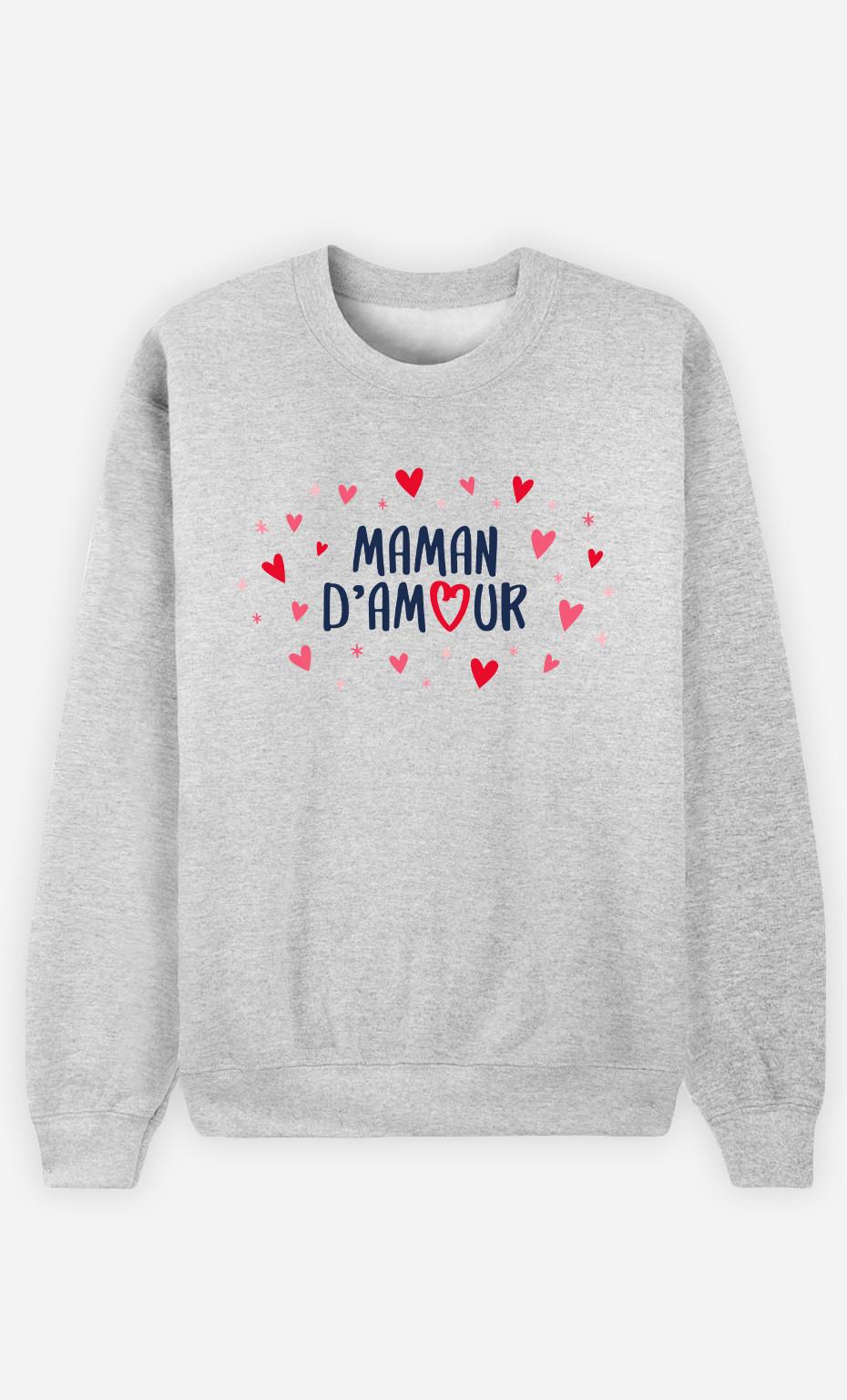 Sweat Femme Maman D'amour