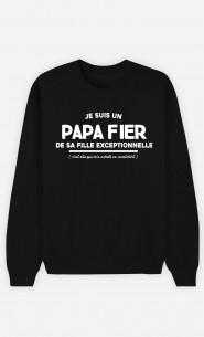 Sweat Homme Je Suis Un Papa Fier