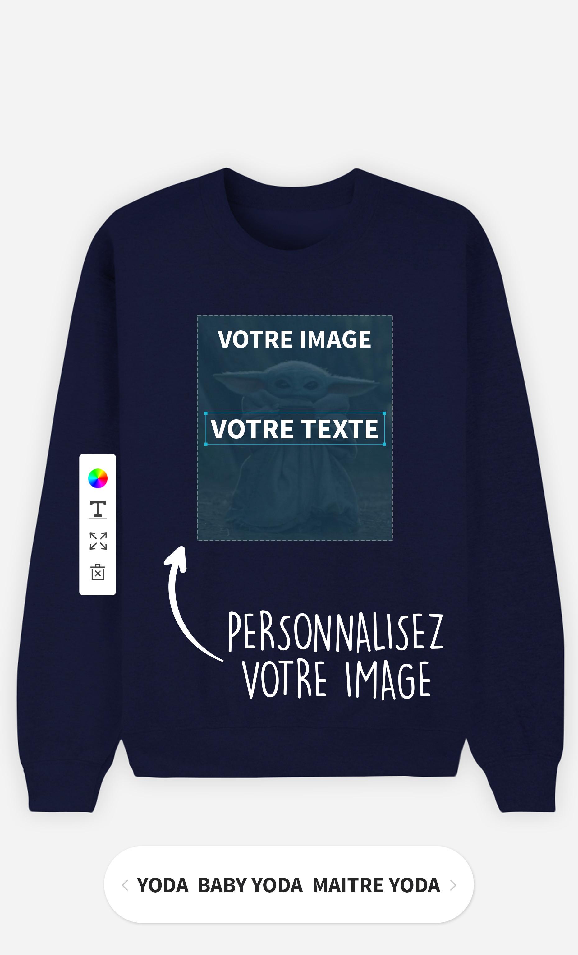 Sweatshirt Femme à personnaliser