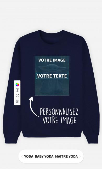 Sweatshirt Homme à personnaliser