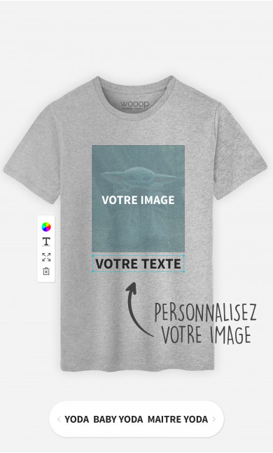 T-Shirt Homme à personnaliser