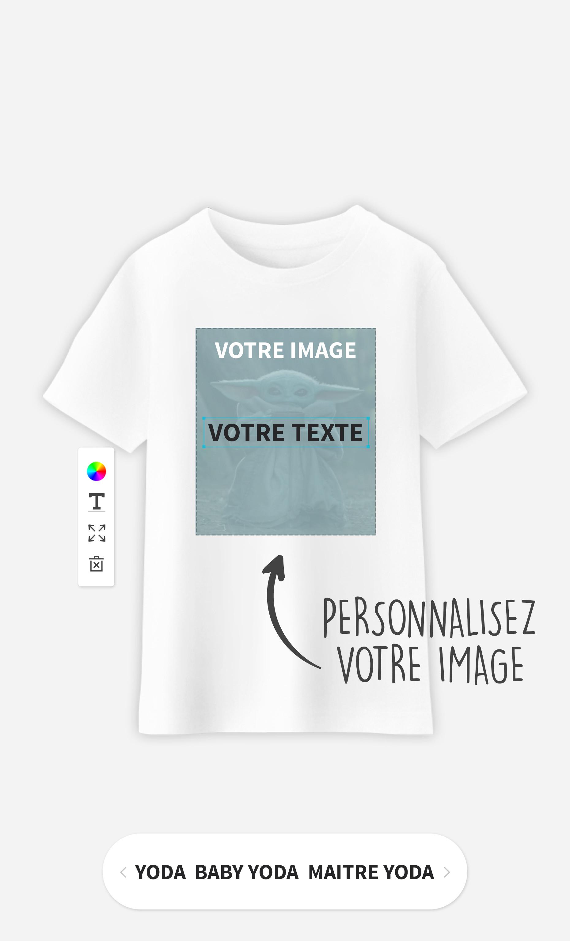 T-Shirt Enfant à personnaliser