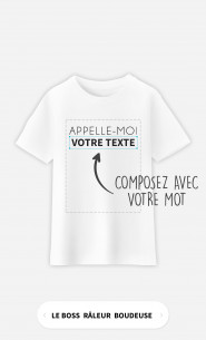 T-Shirt Enfant Appelle Moi à personnaliser