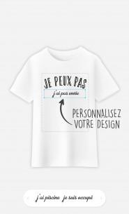 T-Shirt Enfant Je Peux Pas à personnaliser