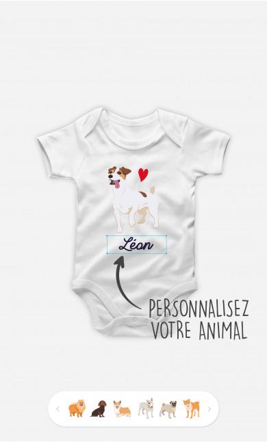 Body Bébé Animal De Compagnie à personnaliser
