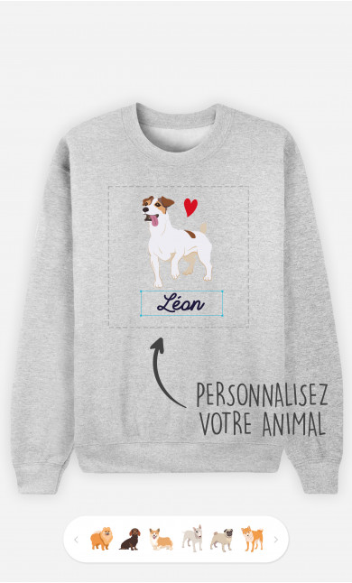 Sweatshirt Femme Animal De Compagnie à personnaliser