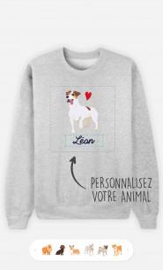 Sweatshirt Homme Animal De Compagnie à personnaliser