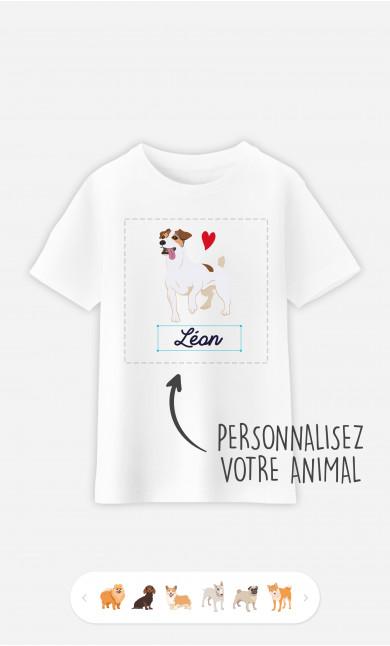 T-Shirt Enfant Animal De Compagnie à personnaliser