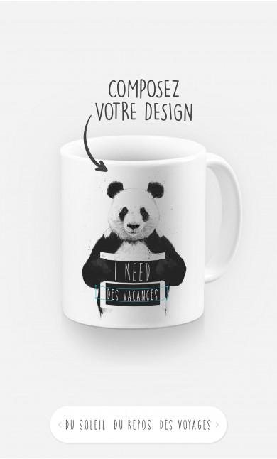 Mug I Need à personnaliser