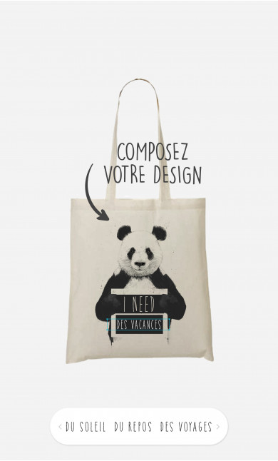 Tote Bag I Need à personnaliser