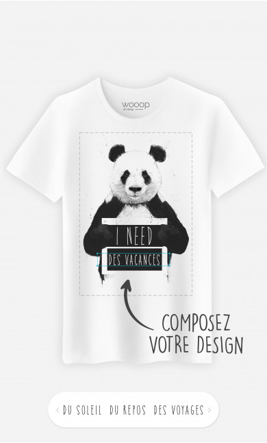 T-Shirt Homme I Need à personnaliser