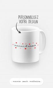 Mug Amour à personnaliser