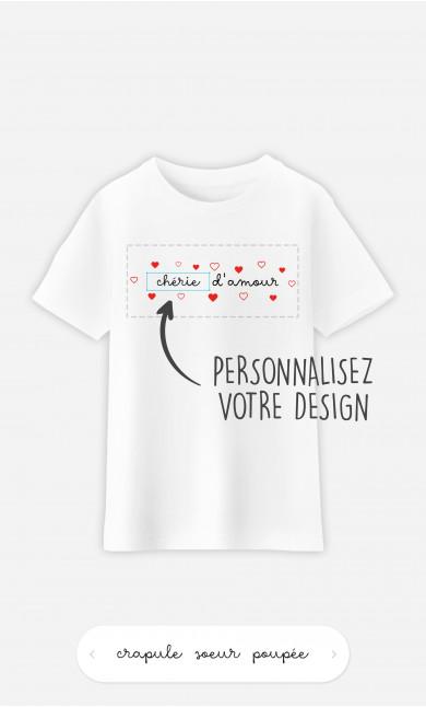 T-Shirt Enfant Amour à personnaliser