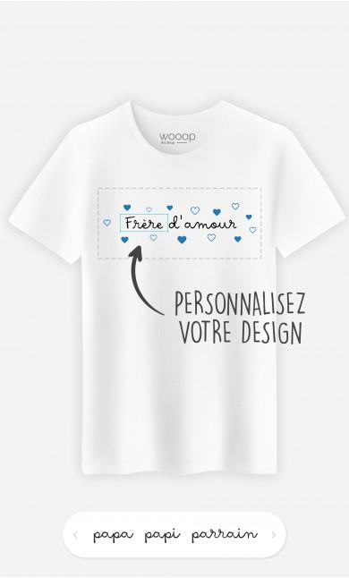 T-Shirt Homme Amour à personnaliser