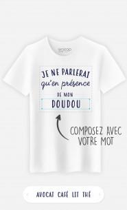 T-Shirt Homme Je Ne Parlerais Qu'en Présence De à personnaliser