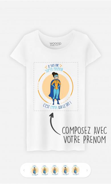 T-Shirt Femme Super Héro à personnaliser
