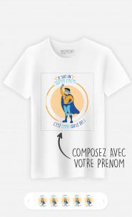 T-Shirt Homme Super Héro à personnaliser